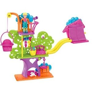 Polly Pocket Wall Tree House Play Set