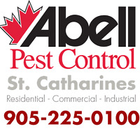 Guaranteed Pest Control Services for St. Catharines/905-225-0100