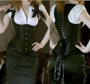 Sexy corset Lingerie Top women's goth Steampunk xs small
