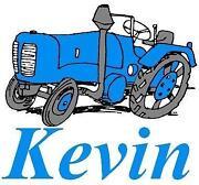 Bügelbild Traktor