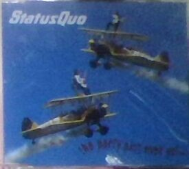 cds,status quo,the party ain't over yet,cd single.