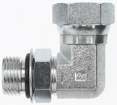 6901-06-06 Hydraulic Fitting 38 Male O-ring X 38 Female Npt Pipe Swivel 90