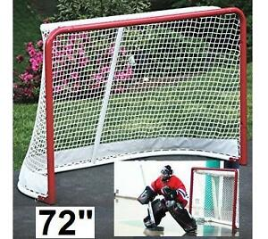 "NEW BLACK ICE PRO HOCKEY GOAL 72"" SPORTS EQUIPMENT Street Hockey 109031680"
