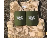 Britsh Army Desert Body Armour and plates
