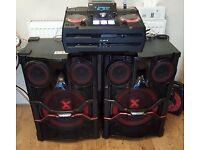 LG x-Boom CM9740 mini HI-FI system 2900w smart DJ