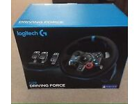 SEALED Logitech G29 Racing Wheel (PS4/PC)