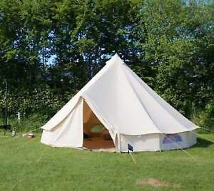 5 meter bell tent with tea light holder