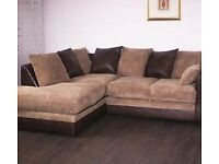 BRAND NEW CORNER SOFA CAN DELIVER FREEE