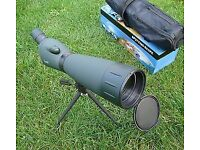 Spotting Scope 20-60x60mm Spotting Scope In Case With Tripod & boxed