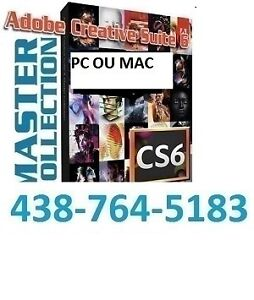 ADOBE PHOTOSHOP MASTER COLLECTION CS6** CC 2015 —PC--MAC-100$