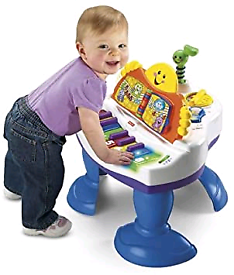Fisher Price Laugh & Learn Baby Toddler Grand Piano musical toy