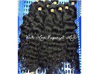 LUXURY RAW HAIR EXTENSIONS - Mink Brazilian, Indian, Vietnamese & Persian Hair