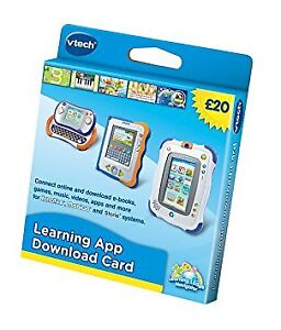 Vtech Learning App Download Card For MobiGo, V.Reader & InnoTab