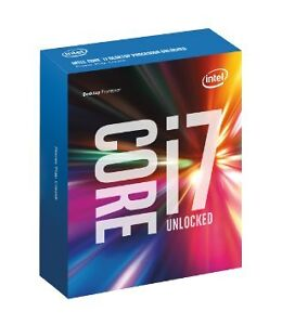 Brand New i7 6700k sealed