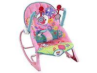 Fisher price Baby rocker chair pink