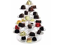 DELICACY TREE, Cupcake Stand Sweets Canopes Treats Holder Tray Parties Weddings new in box