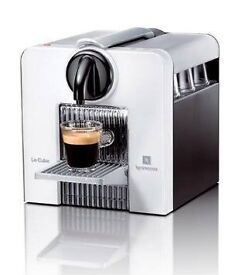 Nespresso cube coffee machine