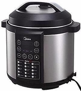 Midea Electric Pressure Cooker, 6 Qt capacity
