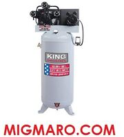 KING INDUSTRIAL KC-5160V1 COMPRESSEUR 6.5HP 60 GALLONS NEUF/NEW