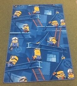 Kids Minions Themed Rug