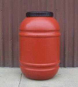TRUCKLOAD SALES: Terracotta Rain Barrel 220L / 55 Gallon
