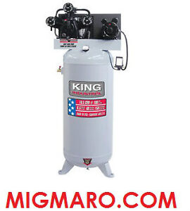 KING INDUSTRIAL KC-5160V1 COMPRESSEUR 6.5HP 60 GALLONS NEUF/NEW!