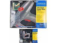 Rapesco electric nailer and stapler. AS NEW