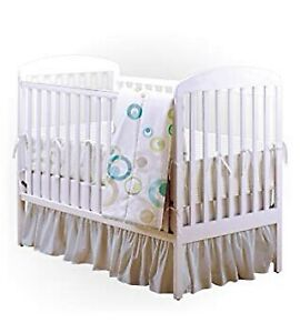 White BILY Classic Crib with mattress