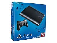 PlayStation 3 Super Slim 500GB Boxed Used Excellent Condition
