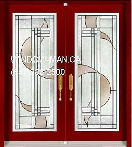 Front Door Entry Double System  White