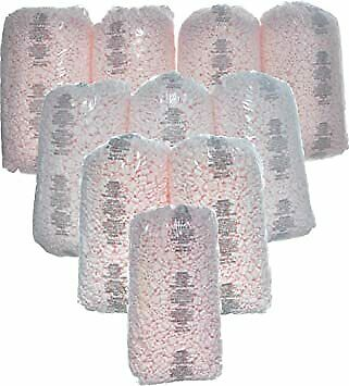 Wholesale Price Packing Peanuts Bag Fill 260 Gallons 10 x 3.5 cu ft Pink Loose