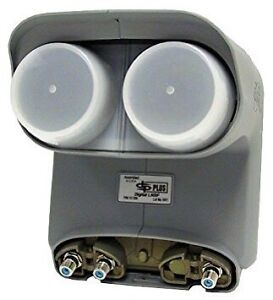 Dpp twin lnb bell satellite 20$ new