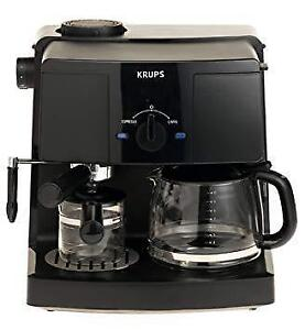 New Opened Box KRUPS XP 1500 Combination Coffee and Espresso Machine (Pick-up Only) - PU5