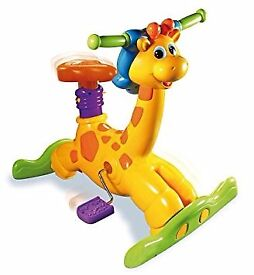 Vtech bounce and ride girafee