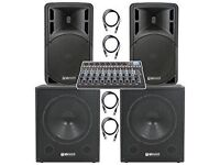Astounded 2000 Watt Active Pa System