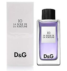 Dolce And Gabanna D&G No. 10 Perfume Roue de Fortune 100ml