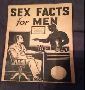 "Antique padell book ""Sex facts for men"" 1930's!"
