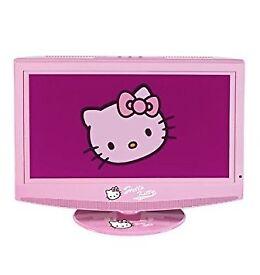 HELLO KITTY TV. NOW BELOW £60