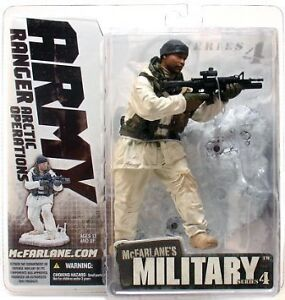 "McFarlane Toys 6"" Military Series 4 - Army Arctic Ranger"