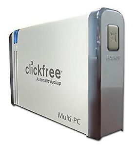 ClickFree Automatic 1000 Gb Backup Harddrive.