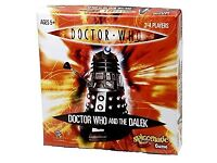 BRAND NEW / SEALED - DOCTOR WHO AND THE DALEK BOARD GAME [ AMAZON PRICE £30.00] Clacton-on-Sea
