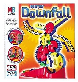 Used NEW DOWNFALL MB Games COMPLETE Skill Strategy Childrens Family Fun Game - very good condition
