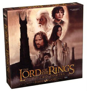 THE LORD OF THE RINGS THE TWO TOWERS BOARD GAME EXCELLENT ÉTAT
