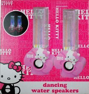 NEW: Hello Kitty USB Powered Water Dancing Speakers