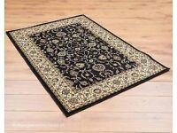 Persian black carpet in very good condition only £20