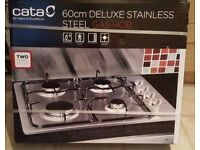 *SALE* CATA GH600 Deluxe Stainless Steel Gas Hobs (60cm)