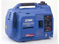 SDMO Booster 2000 Silent Running Generator - New in Box