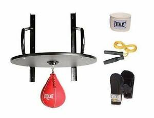 Everlast Speed Bag Kit Frame Skipping Rope Wraps Boxing Mitts Maidstone Maribyrnong Area Preview
