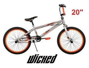 "NEW* WICKED MACABRE BICYCLE BOY'S BIKE - 20"" BMX RIDING CYCLING RECREATION OUTDOOR SPORT 80512495"