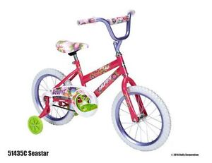 "REDUCED - Girl's 16"" Bicycle with training wheels"